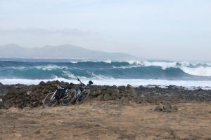 Waves near Corralejo